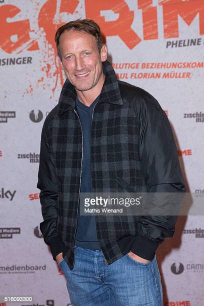 Wotan Wilke Moehring attends the 'Sex Crime' Cologne Premiere at Cinedome Mediapark on March 16 2016 in Cologne Germany