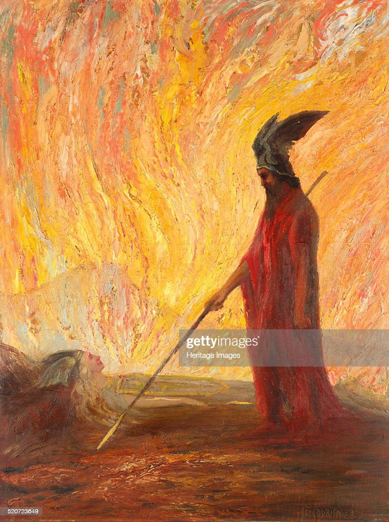 Wotan's Farewell and Magic Fire Private Collection