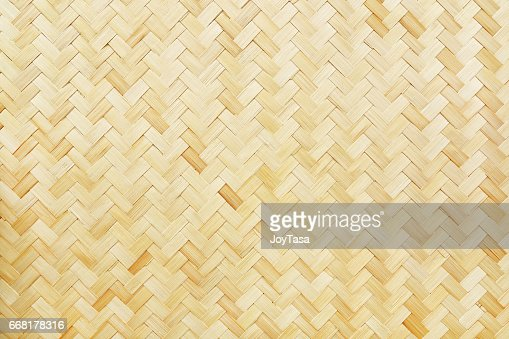 woven bamboo texture for background and design : Stock Photo