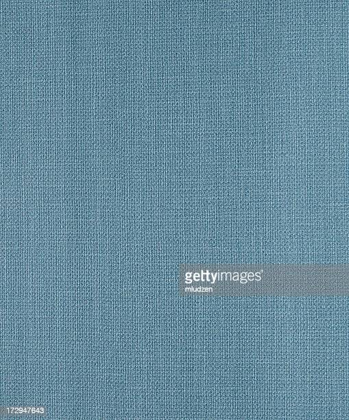 A woven blue fabric texture possibly linen or canvas
