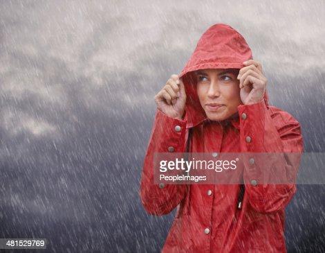 Wow, I'm glad I wore my raincoat!