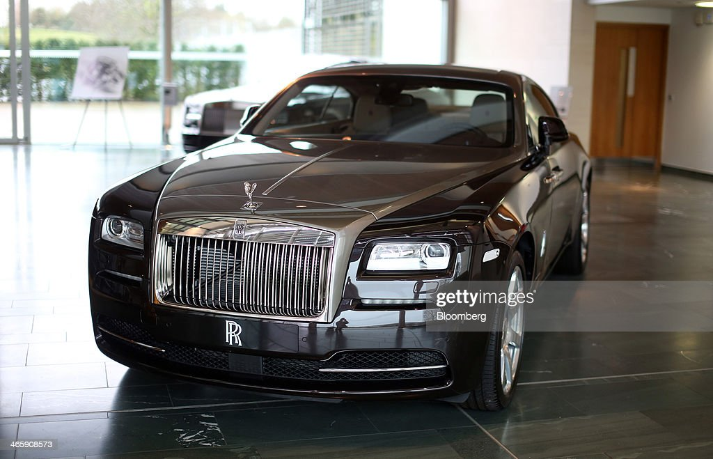 Luxury Automobile Manufacture At Rolls Royce Motor Cars