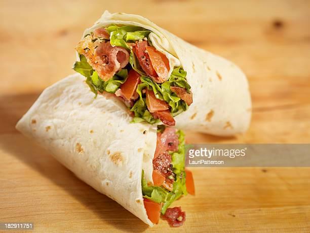 BLT Wrap Sandwich