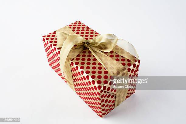 A wrapped gift box Gift wrapping options for the holidays