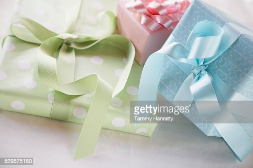 Wrapped Gifts : Stock-Foto