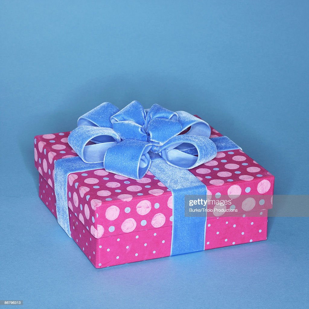 Wrapped present : Stock Photo