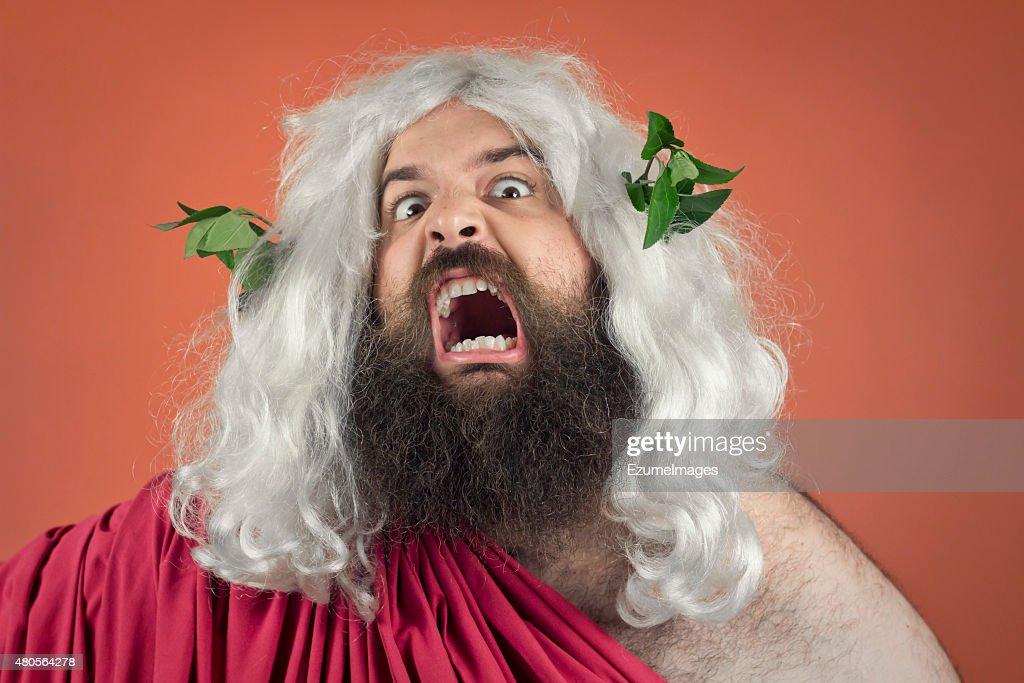 Wrath of God : Stock Photo