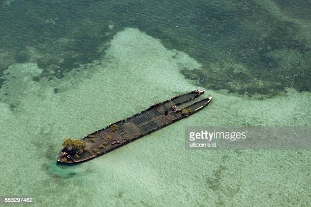 Wreck at Stradbroke Island Moreton Bay Brisbane Australia