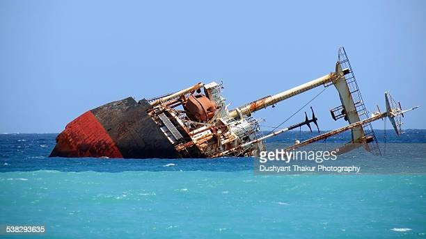 Wreck of ship