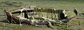 Wrecked ship, Cambados