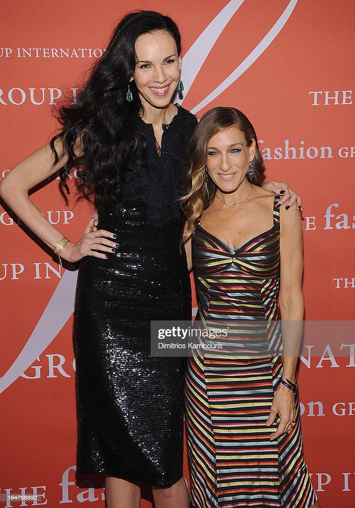 L'Wren Scott and Sarah Jessica Parker attend the 29th Annual Fashion Group International Night Of Stars at Cipriani Wall Street on October 25, 2012 in New York City.