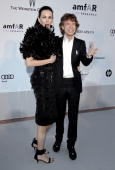 Wren Scott and singer Mick Jagger of the Rolling Stones attend amfAR's Cinema Against AIDS Gala at the Hotel Du Cap during the 63rd International...