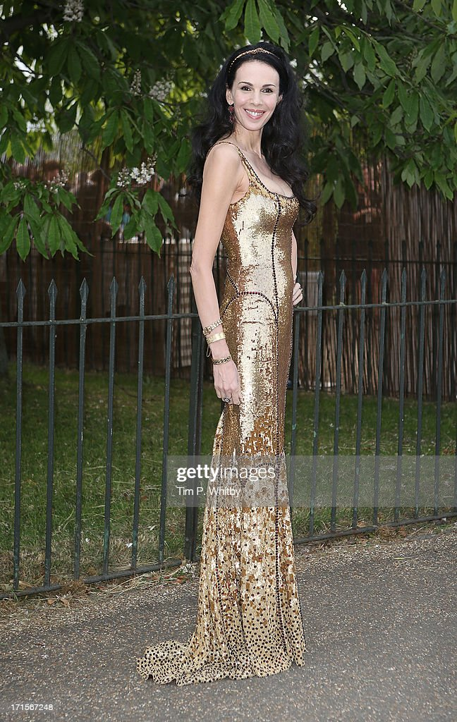 L'Wren Scott attends the annual Serpentine Gallery summer party at The Serpentine Gallery on June 26, 2013 in London, England.