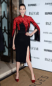 Wren Scott attends the Harpers Bazaar Women of the Year Awards at Claridge's Hotel on November 5 2013 in London England