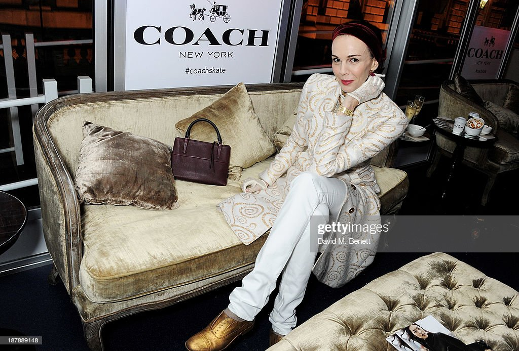 L'Wren Scott attends the VIP launch of 'Coach Presents Skate' at Somerset House on November 13, 2013 in London, England.