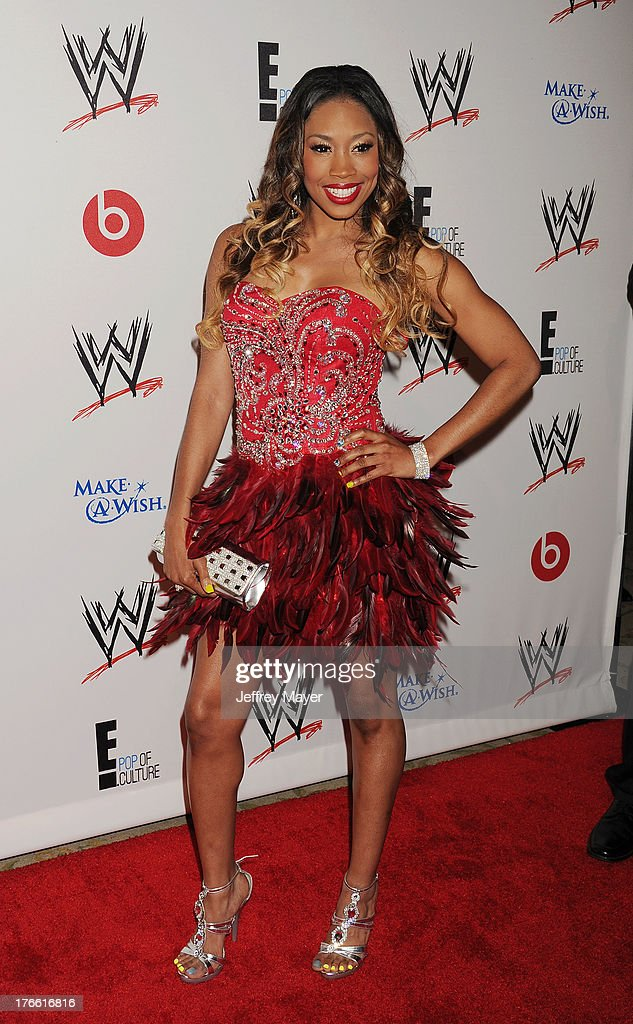 WWE Wrestler Ariane Andrew aka Cameron attends WWE & E! Entertainment's 'SuperStars For Hope' at the Beverly Hills Hotel on August 15, 2013 in Beverly Hills, California.