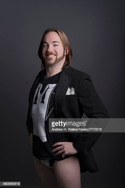 Wrestler Bill Bates is photographed for Variety at the Tribeca Film Festival on April 21 2015 in New York City