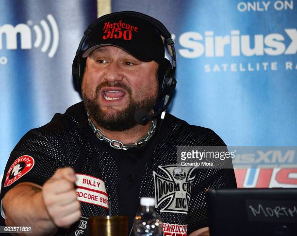Wrestler Bully Ray speaks during the SiriusXM's Busted Open Live From WrestleMania 33on April 1 2017 in Orlando City