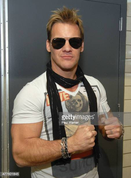 Wrestler Chris Jericho attends day 3 of Autorama at Cobo Hall on March 9 2014 in Detroit Michigan