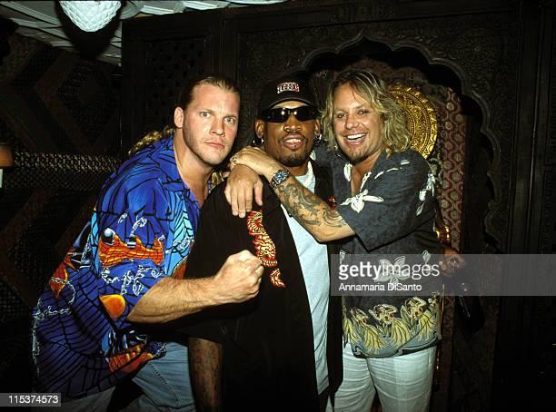 Wrestler Chris Jericho Dennis Rodman Vince Neil
