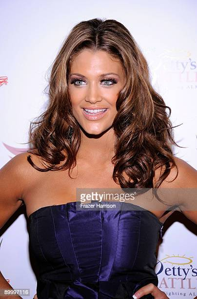 Wrestler Eve Torres arrives at the WWE's SummerSlam Kickoff Party at HWood Club on August 21 2009 in Hollywood California