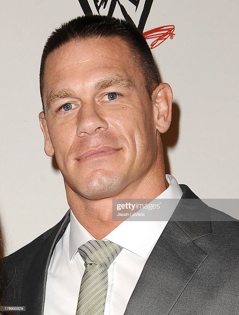 Wrestler <a gi-track='captionPersonalityLinkClicked' href=/galleries/search?phrase=John+Cena&family=editorial&specificpeople=644116 ng-click='$event.stopPropagation()'>John Cena</a> attends the WWE SummerSlam VIP party at Beverly Hills Hotel on August 15, 2013 in Beverly Hills, California.