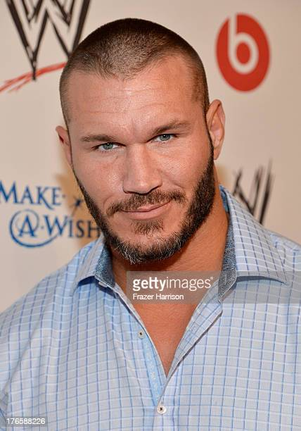 WWE wrestler Randy Orton attends WWE E Entertainment's 'SuperStars For Hope' at the Beverly Hills Hotel on August 15 2013 in Beverly Hills California
