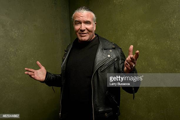 Wrestler Scott Hall from 'The Resurrection of Jake The Snake Roberts' poses for a portrait at the Village at the Lift Presented by McDonald's McCafe...