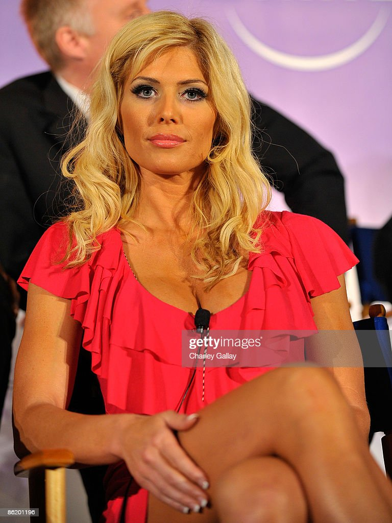 Wrestler Torrie Wilson attends a press conference for 'I'm a Celebrity Get Me Out Of Here!' at the Langham Hotel on April 24, 2009 in Pasadena, California.