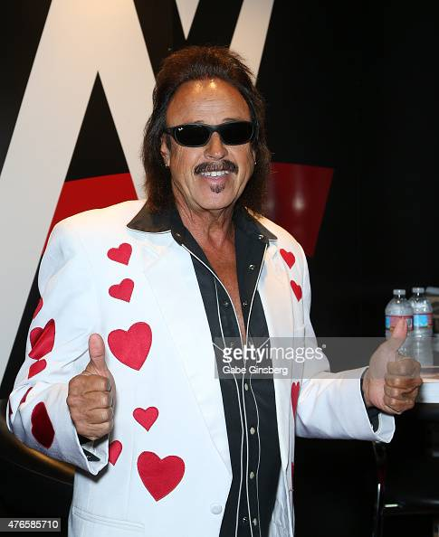Wrestling manager Jimmy 'the Mouth of the South' Hart attends the Licensing Expo 2015 at the Mandalay Bay Convention Center on June 10 2015 in Las...