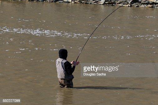 Catching the big fish foto e immagini stock getty images for Catching the big fish