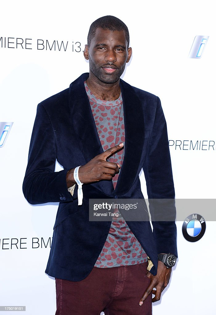 <a gi-track='captionPersonalityLinkClicked' href=/galleries/search?phrase=Wretch+32&family=editorial&specificpeople=5855963 ng-click='$event.stopPropagation()'>Wretch 32</a> attends the BMW i3 global reveal party held at Old Billingsgate Market on July 29, 2013 in London, England.