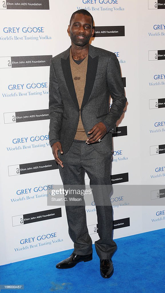 Wretch 32 attends the Grey Goose Winter Ball at Battersea Power station on November 10, 2012 in London, England.