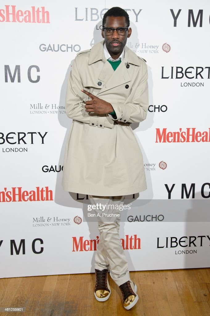<a gi-track='captionPersonalityLinkClicked' href=/galleries/search?phrase=Wretch+32&family=editorial&specificpeople=5855963 ng-click='$event.stopPropagation()'>Wretch 32</a> attends the Men's Health x Liberty x YMC party during The London Collections: Men Autumn/Winter 2014 on January 7, 2014 in London, England.