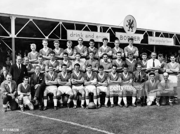 Wrexham team 1959 60 Players and officials Front row LR D McNeil Scott Mr John Love Fred Davis Gren Jones Ronnie Hewitt Ewan Fenton Salisbury Peter...