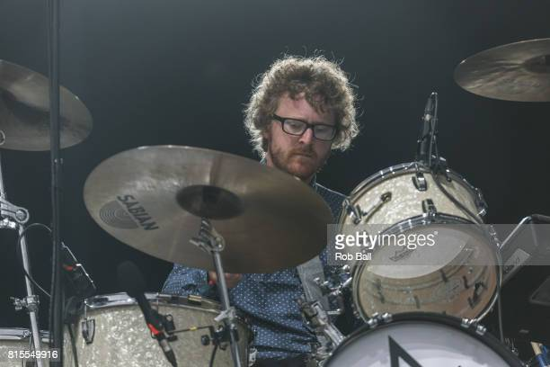 Wrigglesworth from Public Service Broadcasting performs at Latitude Festival at Henham Park Estate on July 16 2017 in Southwold England