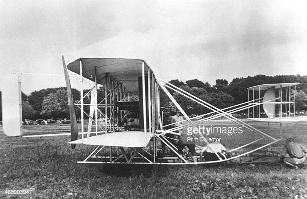Wright Brothers' Military Flyer of 1909 This was the world's first military aeroplane built by Orville and Wilbur Wright for the US Army Signal Corps...