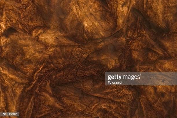 Wrinkled brown paper background