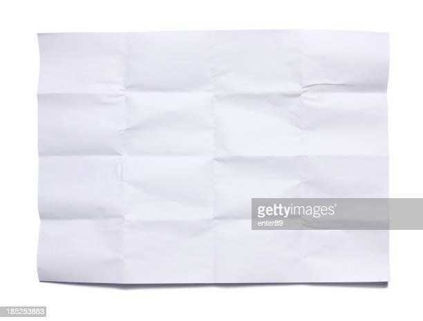 Runzlig Papier