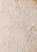 wrinkled paper