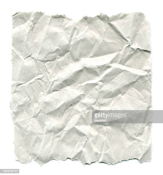 Wrinkled Paper with Torn Edges