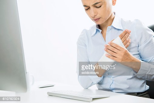 Wrist Pain and Plaster
