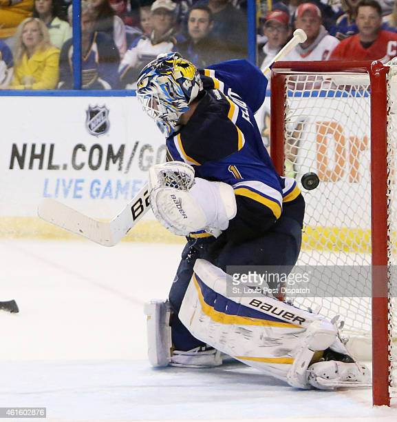 A wrist shot by the Detroit Red Wings' Pavel Datsyuk gets past St Louis Blues goaltender Brian Elliott for the gamewinning goal with 22 seconds...