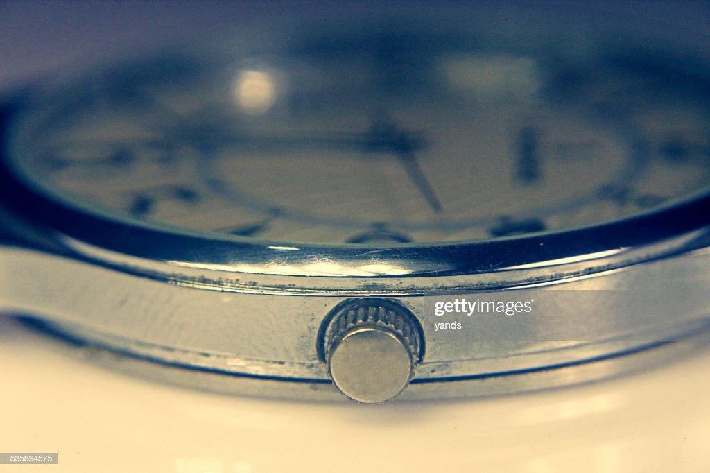 Orologio da polso primo piano : Foto stock