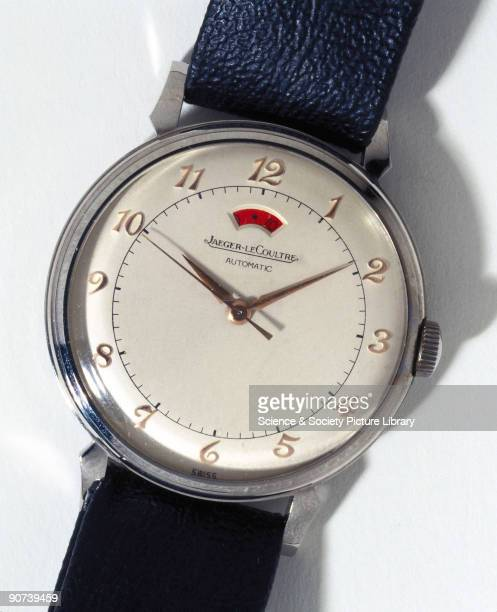 Wristwatch with reserve power indicator made by JaegerLeCoultre Founded in 1903 JaegerLeCoultre was a prolific manufacturer and produced some of the...