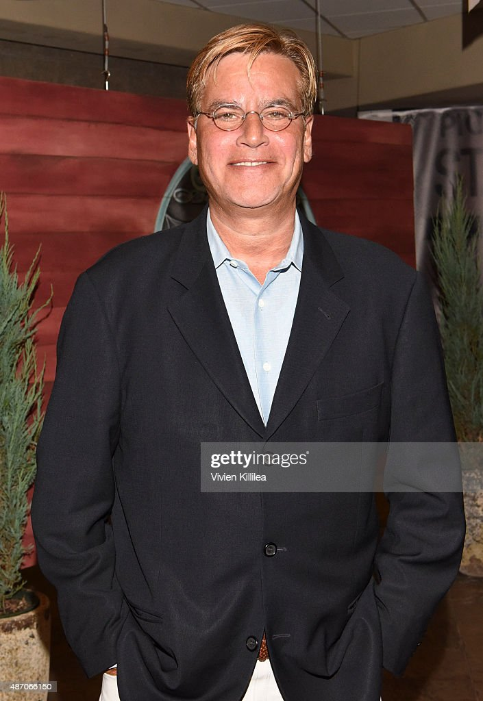 Writer Aaron Sorkin attends the 2015 Telluride Film Festival on September 5 2015 in Telluride Colorado