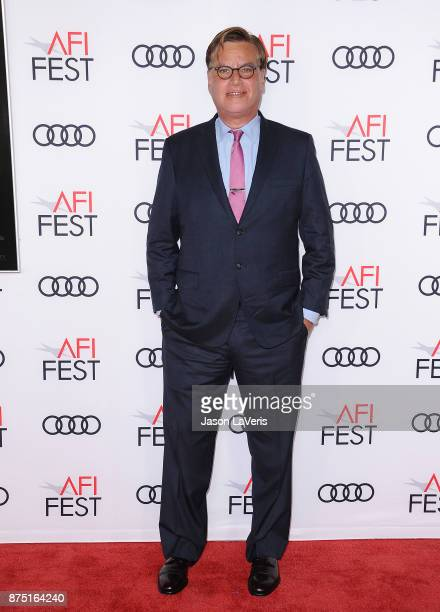 Writer Aaron Sorkin attends the closing night gala screening of 'Molly's Game' at the 2017 AFI Fest at TCL Chinese Theatre on November 16 2017 in...