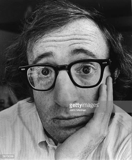 US writer actor and director Woody Allen