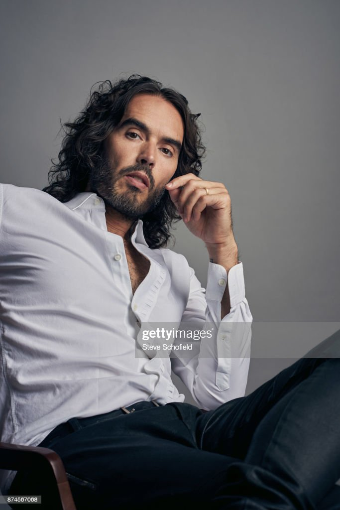 Writer, actor, comedian and campaigner, Russell Brand is photographed on September 5, 2017 in London, England.