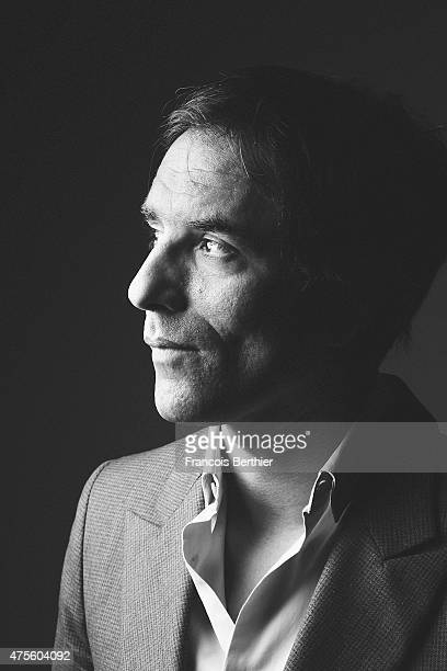 Writer actor scenarist and director Samuel Benchetrit is photographed on May 17 2015 in Cannes France
